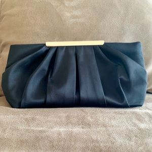 Handbags - Black Clutch with removable straps